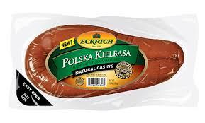 polska kielbasa natural casing smoked
