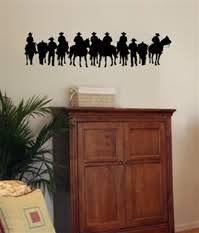 Western Cowboy Wall Decals Stickers