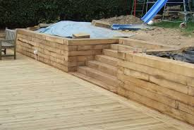new oak railway sleepers from
