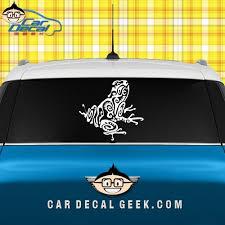 Tribal Frog Car Window Decal Sticker Wildlife Decals Car Decals Sea Turtle Decal Car Decals Stickers