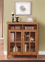 warm shaker medium storage cabinet