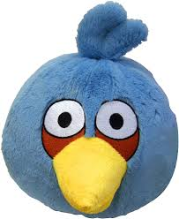 Angry Birds Space 8-Inch Blue Bird with Sound Stuffed Animals & Teddy Bears