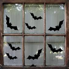 Bat Halloween Decal Halloween Sticker Halloween Window Decal Bat Decal Halloween Decoration In 2020 Halloween Window Decorations Diy Halloween Window Decorations Diy Halloween Window