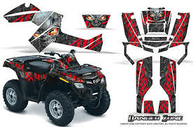 Can Am Renegade Graphics Kit By Creatorx Decals Stickers Danger Zone Yellow