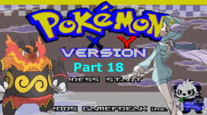 ? Pokemon X and Y GBA Hack Rom - YouTube