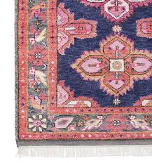 navy and c antique persian rug