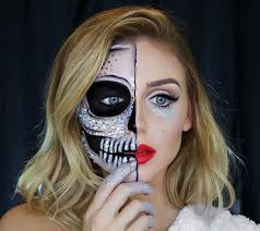 sugar skull makeup halloween costume