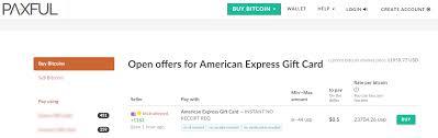 american express gift card litecoin