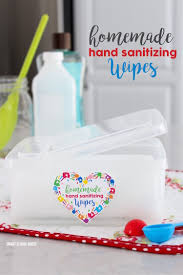 homemade hand sanitizing wipes smart