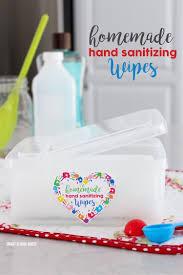 homemade hand sanitizing wipes smart