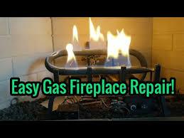 how to fix a gas fireplace pilot light