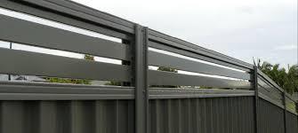 Breezeway Colorbond Fences Perth Brisbane Melbourne Oxworks Fence Design Fence Breezeway