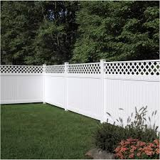 Certainteed 8 Brookhaven Privacy Lattice Top Panel Fence Home Hardware