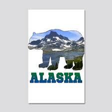 Alaska Wall Decals Cafepress