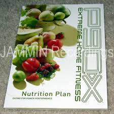 p90x nutrition plan guide cookbook