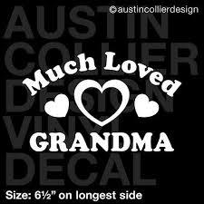 6 5 Much Loved Grammy Vinyl Decal Car Window Laptop Sticker Grandma Gift Car Truck Graphics Decals Auto Parts And Vehicles Tamerindsa Com Ar
