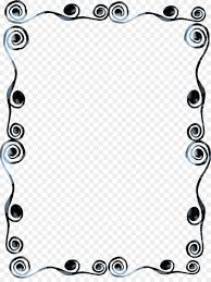 black and white frame png