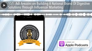 151: Adi Arezzini on Building A National Brand Of Digestive Solutions  Through Influencer Marketing - video dailymotion