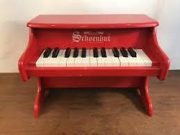 schoenhut red mini toy piano 25 keys ebay