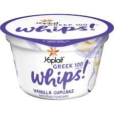 yoplait greek 100 whips vanilla