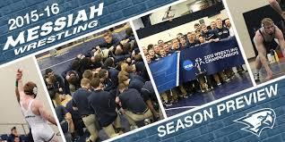 Messiah Wrestling Set To Build On Recent Success - Messiah University  Athletics