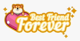 best friend forever logo hd png