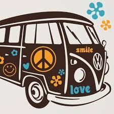 Vw Bus Volkswagon Vinyl Wall Decal By Kathwren On Etsy 45 99 Vw Art Vw Bus Volkswagon