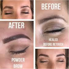 how to lighten permanent eyebrow makeup