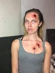 blood gore makeup exit velocity