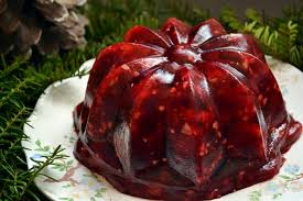 cranberry gelatin mold retro recipe