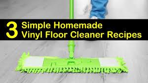 3 simple homemade vinyl floor cleaner