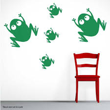 Frog Toad Wall Decal Sticker