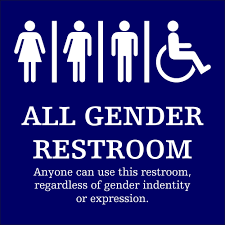 all gender restroom sign is this