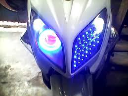 Độ Đèn Led Xe Máy Air Blabe: đèn led audi