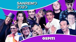 Gli ospiti di Sanremo 2020 (italiani e stranieri) - Open