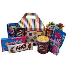 candy or chocolate gift basket ideas