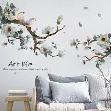 Branch Birds Wall Decals Wall Decals Living Room Interior Wall Paint Bird Wall Decals