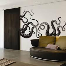 Octopus Tentacle Wall Decal Motivation Sea Monster Squid Room Vinyl Mural Decor Vinyl Wall Vinyl Wall Decals Wall Graphics