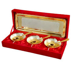 silver and gold plated br gifts