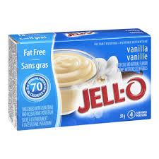 jell o instant pudding vanilla fat free