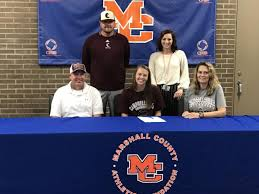 Lady Marshals' Young signs with Campbellsville softball   Sports ...