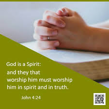 john worship in spirit and truth bible quote image
