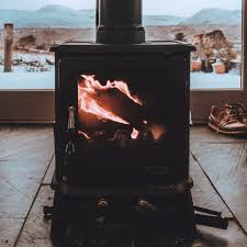 using wood or pellet stoves for heating