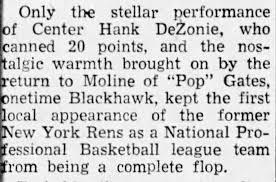 Hank DeZonie: The NBA's Overlooked Barrier-Breaker