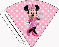 Minnie Rosa Invitaciones Imprimibles Imagenes Y Fondos Para