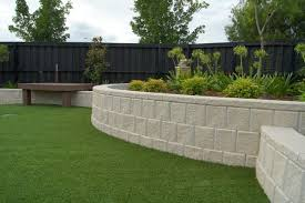 Architecture Garden Design With Simple Black Fence Near Small Wood Febce And Green G Backyard Garden Landscape Small Garden Retaining Wall Backyard Landscaping