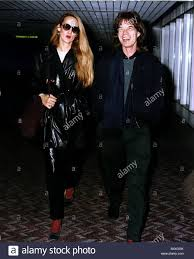 Jerry Hall and Mick Jagger Stock Photo - Alamy