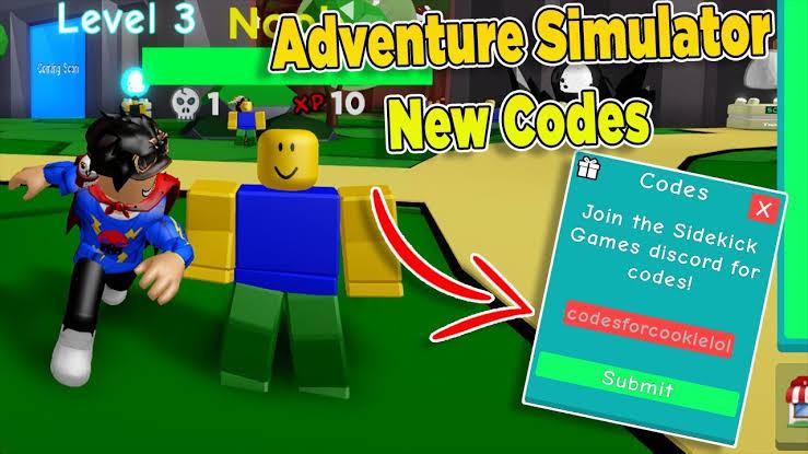 Adventure Simulator Codes – Roblox – October 2019