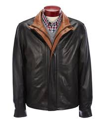 mens leather class men s clothing