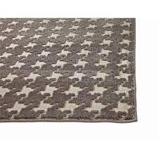 charcoal grey ivory 5x8 area rug